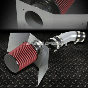 FOR 03-05 LINCOLN AVIATOR SUV 4.6 V8 COLD AIR INTAKE ALUMINUM PIPE+HEAT SHIELD