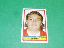 N°43 SERGIO JAUREGUI BOLIVIA PANINI FOOTBALL COPA AMERICA 2007