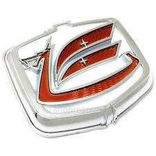 OEM Toyota 70-77 Celica Rear Quarter Panel Dragon / Viking Emblem Badge Red