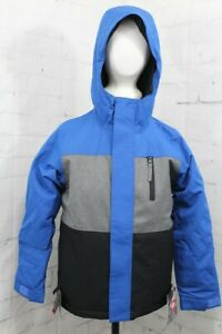 686 Smarty 3-in1 Insulated Snowboard Jacket, Boys Youth Medium, Primary Blue New