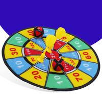 KQ_ HD_ KE_ AU_ Dartboard Target Dart Safe Soft Flocking Children Kids Indoor Sp