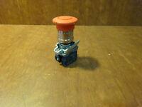 NEW Schneider Red Illuminated Pushbutton Head ZB4BW643 066661
