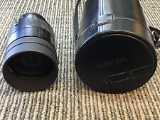 MINOLTA MAXXUM AF 500MM 1:8 Reflex Mirror Camera Lens Japan W/ Case