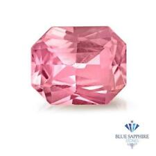 1.00 ct. Radiant Natural Pink Sapphire ~ 7 x 5 mm