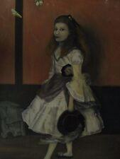 Quadro antico MISS ALEXANDER di Scapin Elena (Schio)