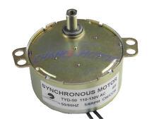 TYD-50 Synchronous Motor 110V AC 5-6RPM CW/CCW Torque 6Kg.cm Flush