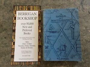 H.J Samuel - A saddle at Bontharambo - Longmans PB (Cloth) 1950 1st Ed