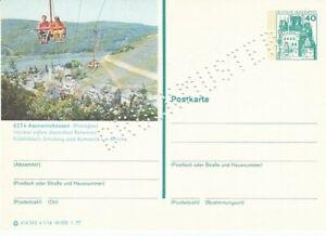 P 124 Bildpostkarte Imprimer Échantillon Assmannshausen