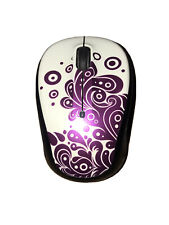 Logitech M325C (910-005343) Wireless USB Optical Mouse Purple And White