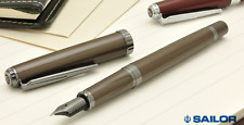 [Fine nib] Sailor Reglus Fountain Pen Brown IP Stainless Japan