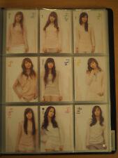 SNSD Girls' Generation Season 1 # 010 Baby Baby Star cards Photocards Full 9 Set