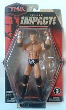 "NEW JAKKS ""TNA IMPACT WRESTLING"" MATT MORGAN Wrestling Figures [MOC]"