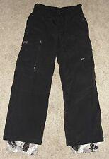 Looks New Boys Triple Nickel Winter Sports Snow Pants Sz 12 Black Snow Pants