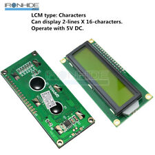 1602LCD Module backlight Characters HD44780 display for Arduino Raspberry Pi