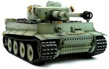 Taigen hand painted rc tank early Version Tiger I Grey camo-full metal upgrade