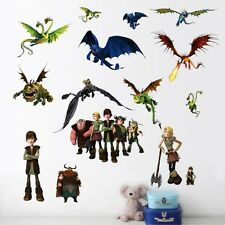 How to Train your Dragon Astrid Hiccup Wall decals Removable sticker kids decor