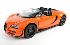 Bugatti Veyron 16.4 Grand Sport Vitesse orange Maßstab 1:18 von Rastar