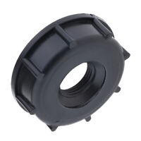 """2"""" IBC Tote Tank Valve Adapter Female Thread for 3/4"""" Hose Pipe, Firm"""