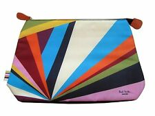 Brand New Paul Smith Multicoloured Toiletry Cosmetics Wash Bag