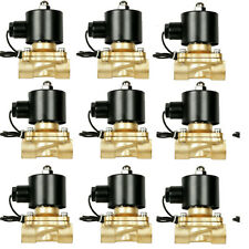 "9 Brass air suspension valve1/2"" npt port electric solenoid 250psi 9th is FREE"