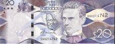 Barbados $20 Banknote Circulated Condition Legal Tender
