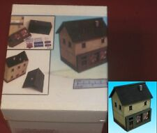 ESLO #015029 15mm House with Store (1) Miniature Pre-Painted Terrain Building