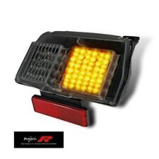 CAGIVA 125 MITO SMOKED INTEGRATED INDICATORS SUPER LED TAIL LIGHT LIGHTS