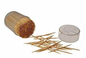 Hanamal Bamboo Wooden Toothpicks 4 X 500 (2000pcs)