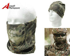 Tactical Military Hunting Camouflage Quick Drying Scarf Hood Half Face Mask HLD