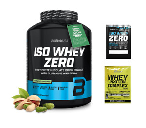 BioTech USA Iso Whey Zero Lactose Free (Isolate) 2270g FREE SHIPPING