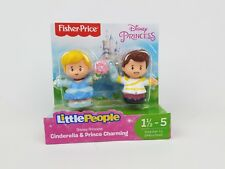 Fisher-Price Little People Disney Princess, Cinderella & Prince Charmings