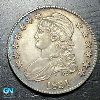 1831 Capped Bust Half Dollar  --  MAKE US AN OFFER!  #K4708