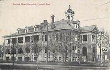 c1910 Sacred Hearts Hospital, Garrett, Indiana Postcard