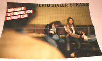 klein,Plakat,Filmplakat,CHRISTIANE F. WIR KINDER BAHNHOF ZOO,KAJTJA BRUCKHORST-7