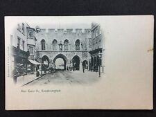 Vintage Postcard - Hampshire #A11 - RP Bar Gate S, Southampton - P S & V