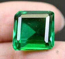 VVS 11.30 CT Colombian Natural Green Emerald CERTIFIED Loose Gemstone OA976