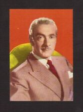 Clifton Webb Actor Vintage History of the Cinema Spanish Movie Film Card