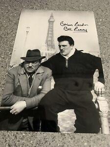 Brian London Signed Photo. Muhammad Ali Opponent. Memorabilia Autograph