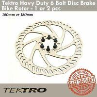 Tektro Havy Duty 6 Bolt Disc Brake Bike Rotor 160/180mm Road CX Mountain