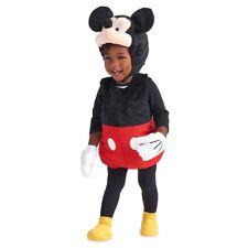 NEW Disney Store Mickey Mouse Plush Baby/Toddler Costumes size 18-24 Mos NWT