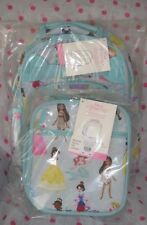 NEW Pottery Barn Kids SMALL Disney Princess Backpack LUNCH BAG