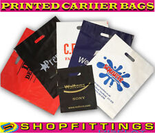 More details for printed carrier bags design plastic quality shopping bags carriers custom logo