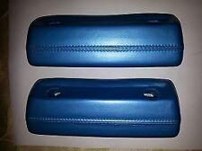 68-71 Dodge Dart, Plymouth Valiant (332) LIGHT BLUE METALLIC Arm Rest Pads NEW!