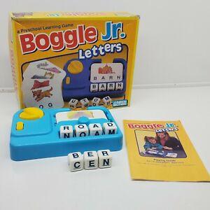 Parker Brothers Boggle Jr Preschool Spelling learning game 1992