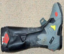 SIDI Crossfire 2 Motocross MX Boot Size 13 RIGHT SIDE Leather GREY/BLACK