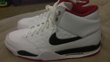 MEN'S NIKE AIR FLIGHT CLASSIC SHOES WHITE - BLACK 414967 100 MOST SIZE 13