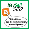 10 Backlinks aus Blogkommentaren - themenrelevante Artikel - SEO Linkaufbau