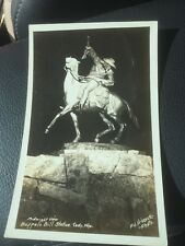 Vintage Postcard From Cody, Wyoming Buffalo Bill Statue