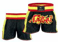 EVO Muay Thai Fight Shorts MMA Kick Boxing Cage Fighting Martial Arts Gear UFC