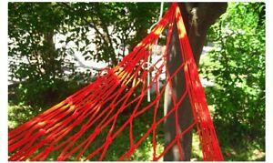 Nylon Hammock Portable Garden Mesh Net Sleeping Bed Hamaca Travel Camping Hamak